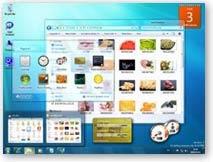 Windows 7 asztal
