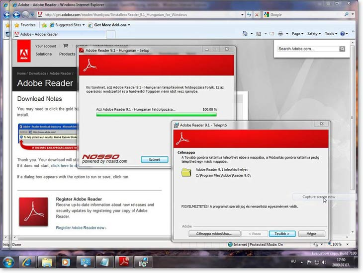 Windows 7 - Adobe Reader
